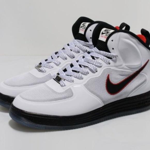 Air One Mid Nike Wb Force University Lunar Red clJTKF13